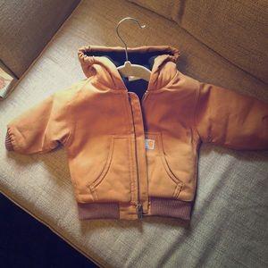 Carhartt little kids jacket.